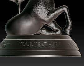 Nro 32 kilpailuun 3д статуэтка käyttäjältä QueenOfThorns