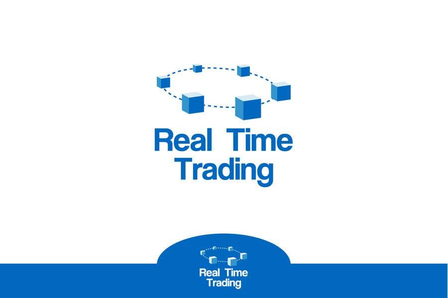 Penyertaan Peraduan #35 untuk Design a Logo for Real Time Trading
