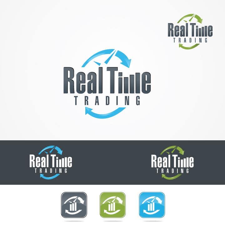 Penyertaan Peraduan #31 untuk Design a Logo for Real Time Trading