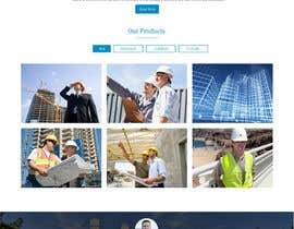 #5 untuk Design a Website Mockup for a construction company oleh ravinderss2014