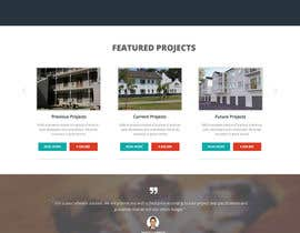 #14 untuk Design a Website Mockup for a construction company oleh webmastersud
