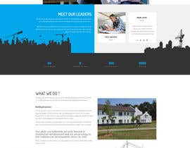 #9 untuk Design a Website Mockup for a construction company oleh rhmguy
