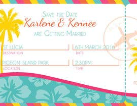 #3 untuk Design a Birthday invitation like a plane boarding card oleh BethanDdesigns