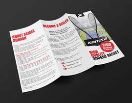 #11 untuk Xamsa Squash Brochure Design oleh doradodo