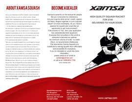 #1 untuk Xamsa Squash Brochure Design oleh DewDewBG
