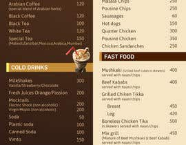 #19 para Design  Food and Beverage Menu for Shisha Sports Lounge -- 2 de mufzilkp
