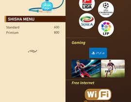 #20 para Design  Food and Beverage Menu for Shisha Sports Lounge -- 2 de mufzilkp