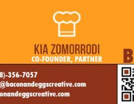 #108 for Design the back of a business card af jorgelove25