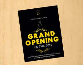 #59 for Design a Flyer for grand opening of clothing store af dinesh0805