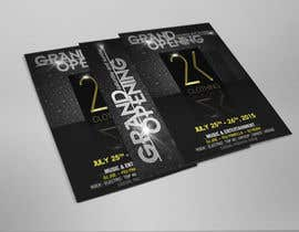 #25 for Design a Flyer for grand opening of clothing store af adsis