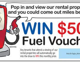 #6 untuk Design an Advertisement for A $500 Fuel Voucher oleh Robpurl