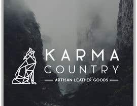 #51 cho Design a Logo for Karma Country - Leather Goods bởi layniepritchard