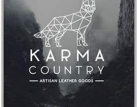 #80 for Design a Logo for Karma Country - Leather Goods by layniepritchard