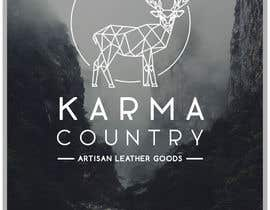 #83 for Design a Logo for Karma Country - Leather Goods by layniepritchard