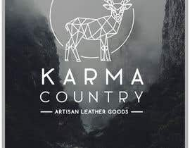 #86 for Design a Logo for Karma Country - Leather Goods by layniepritchard