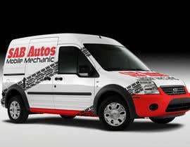 #4 para Vehicle Graphics  Van Signage designs por rogeriolmarcos