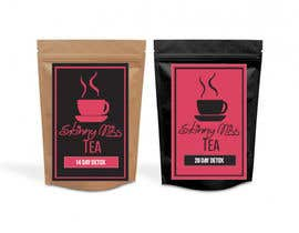#14 untuk Design a logo and packaging label for tea brand oleh intan120495