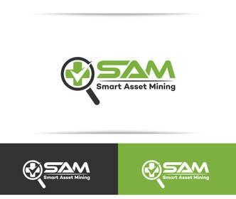 Nro 212 kilpailuun Design a Logo for Smart Asset Mining (SAM) käyttäjältä SergiuDorin