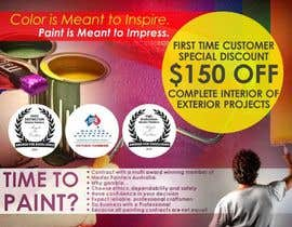 #4 untuk Design a Flyer for a painting company offer oleh designciumas