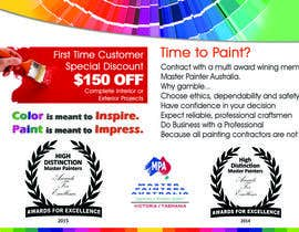 #2 untuk Design a Flyer for a painting company offer oleh gk1713