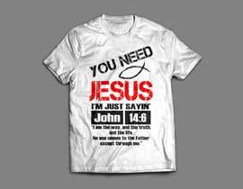 #27 for Design a T-Shirt for LukesChristianTshirts.com af ivanalazic984