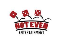 Nro 54 kilpailuun Logo design for Not Even Entertainment käyttäjältä PastaLion