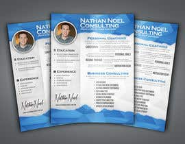 #8 untuk Design a Flyer for a Consulting Business -- 2 oleh abudabi3
