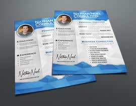 #11 untuk Design a Flyer for a Consulting Business -- 2 oleh abudabi3