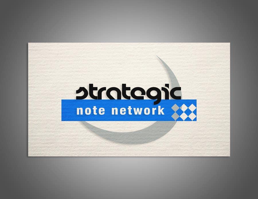 Penyertaan Peraduan #15 untuk Design a Logo for Strategic Note Network