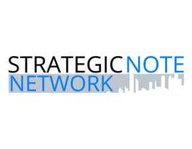 artgrc123 tarafından Design a Logo for Strategic Note Network için no 1