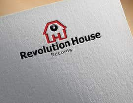 #13 untuk Design a Logo for Revolution House (Record Label) oleh bagas0774