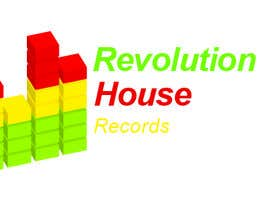 #46 untuk Design a Logo for Revolution House (Record Label) oleh jovanmilicevic