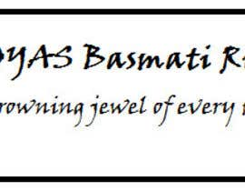 "#41 cho Slogan for BASMATI rice ""JOYAS"" bởi ashehnaz"