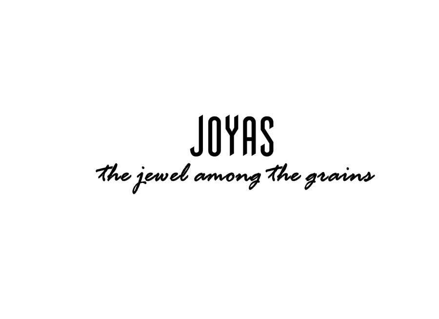 """Kilpailutyö #108 kilpailussa Slogan for BASMATI rice """"JOYAS"""""""