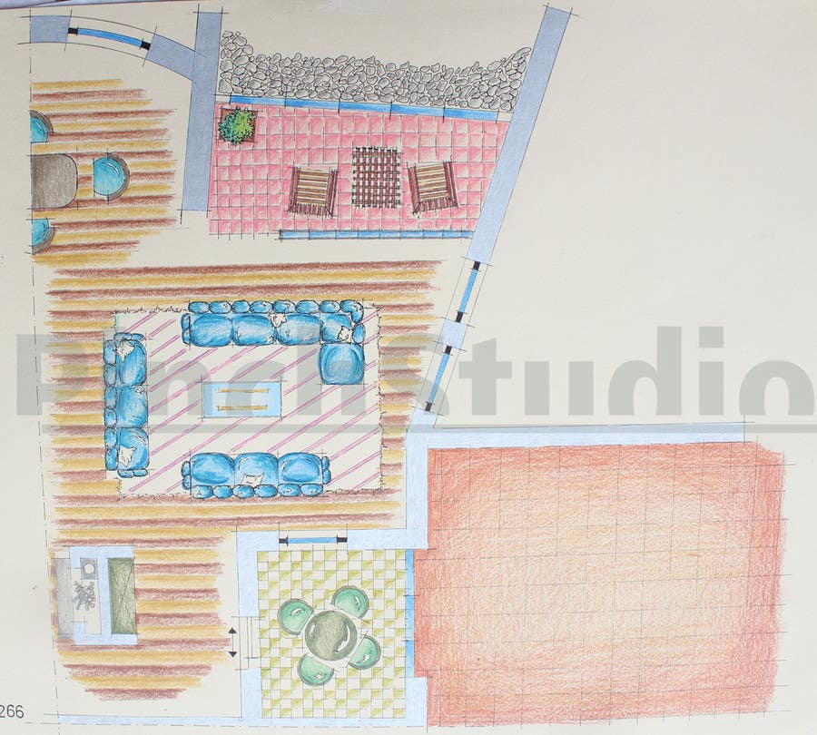 """Bài tham dự cuộc thi #                                        27                                      cho                                         3 DAYS CONTEST: Interior and Exterior Building View of any kind Hand Sketches or Sketchup """"look alike hand sketches """""""