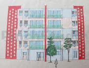 """Bài tham dự #31 về Graphic Design cho cuộc thi 3 DAYS CONTEST: Interior and Exterior Building View of any kind Hand Sketches or Sketchup """"look alike hand sketches """""""