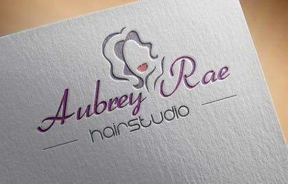#46 cho Design a Logo for Aubrey Rae Hair Studio bởi BDamian