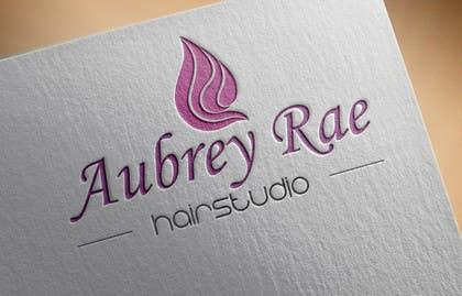 #48 cho Design a Logo for Aubrey Rae Hair Studio bởi BDamian