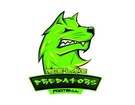 nº 47 pour Logo Design: Rice Lake Predators Football par zapanzajelo