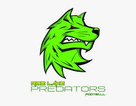 nº 55 pour Logo Design: Rice Lake Predators Football par zapanzajelo