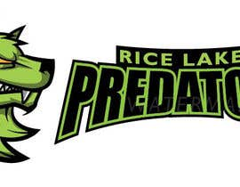 nº 42 pour Logo Design: Rice Lake Predators Football par kiekoomonster