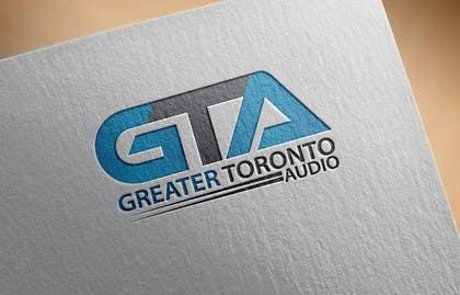 Nro 27 kilpailuun Design a Logo for Greater Toronto Audio käyttäjältä alikarovaliya