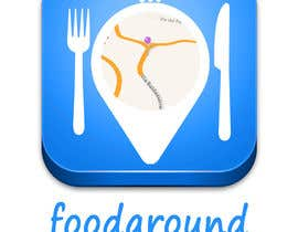 #51 untuk Disegnare un Logo for foodaround (app) oleh salvamagno