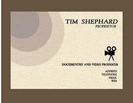 nº 29 pour Business Card Design for Tim Shephard par Romona1