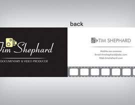 #39 para Business Card Design for Tim Shephard de sufyanchanda