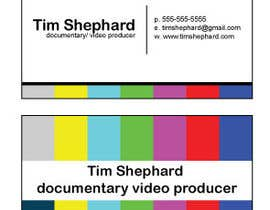 #27 untuk Business Card Design for Tim Shephard oleh Greenpty