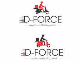 #65 for Design a Logo for D-FORCE Logistics and Staffing pvt ltd by ghouse453