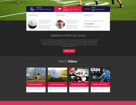 #6 for Dallas Roughnecks website design af vivekdaneapen