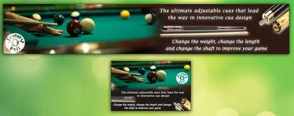 #18 cho Design a Banner for Snooker Website bởi ramiessef