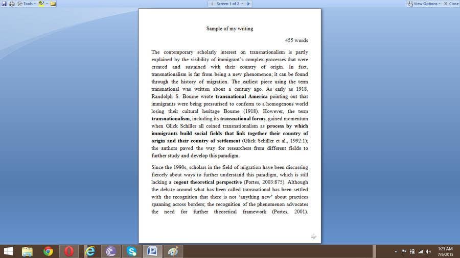 Konkurrenceindlæg #9 for Sociology work